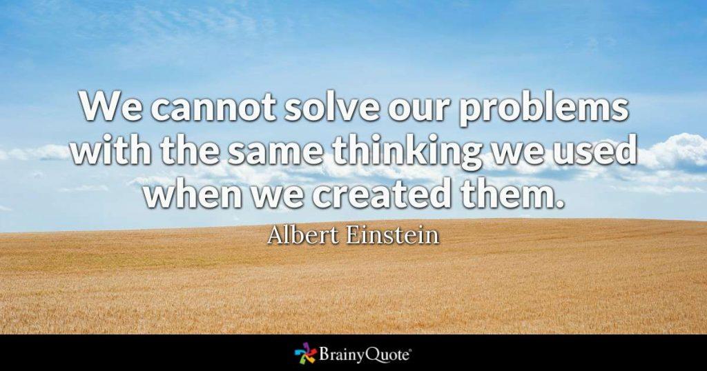 نقل قول از انیشتین
